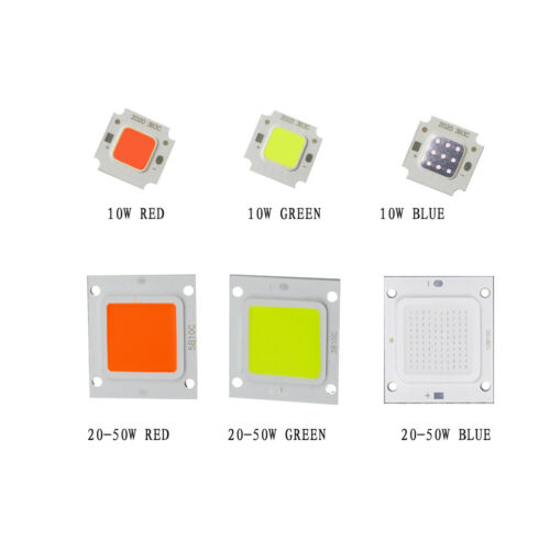 10W-100W LED Chips Bulb COB RGB UV White Super bright SMD DIY for Flood Light