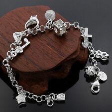 Bettelarmband 925 Sterling Silber , Armband , Armkette zum Aktions Preis !!!