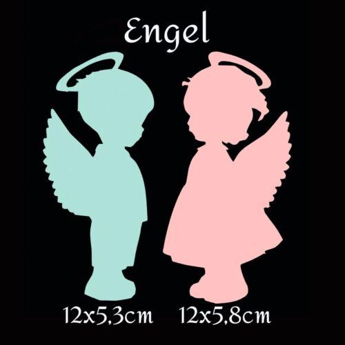 Taufe Geburt Engel Konfirmation Scrapbooking Tischkarte Kommunion