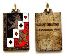 Medaglia Con Smalti 3° Torneo Internazionale Di Bridge Saint Vincent 1962
