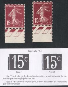 SEMEUSE-VARIETE-N-189-LE-TYPE-I-ET-II-neufs-BDF-PROMOTION