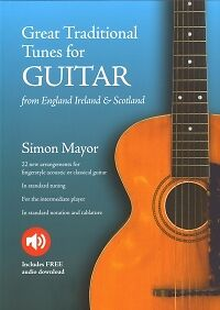 Initiative Simon Mayor Great Traditional Tunes For Guitar* Guitar Musical Instruments & Gear
