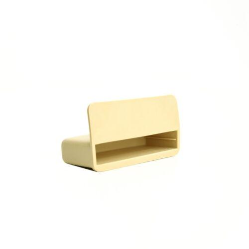 53 mm Lit Simple Slat détenteurs//caps pour lit en bois Cadres-Beige-LIVRAISON GRATUITE
