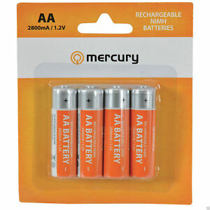 Mercury-AA-Aufladbar-NiMH-2800mA-1-2V-Batterien-x-4