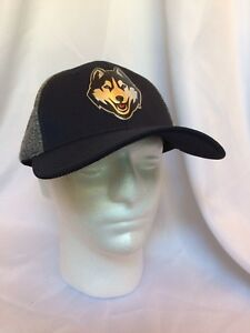 buy popular a6ed4 55d1f Image is loading UConn-Huskies-NCAA-Fitted-XL-Hat-Cap-by-