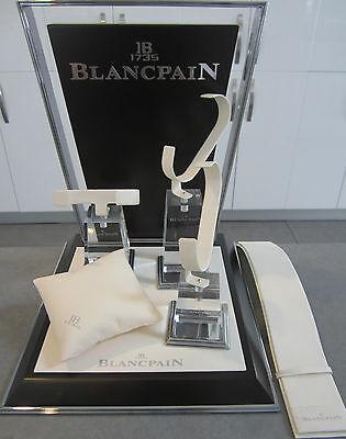 Genuine Blancpain Complete Multiple Wrist Watch & Chronograph Display Set #5011S
