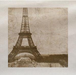Vintage-Paris-Panneau-En-Tissu-Faire-Un-Coussin-Tapisserie-Loisirs-Creatifs