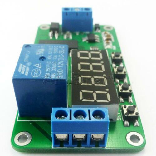 DC 5V Multifunction Self-lock Relay PLC Cycle Timer Module Delay Time Switch New