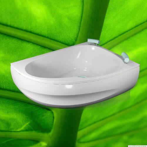 Befestigungsset Füße Ablauf Badewanne 160x125 cm Spinell Rechts