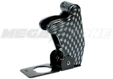 Carbon Fiber Toggle Switch Racing Safety Cover Guard Plasticmetal Usa Seller