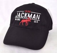 Jackman Maine Bull Moose Ball Cap Hat Embroidered Ouray Sportswear