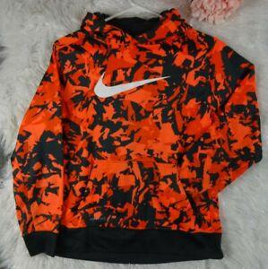 abrazo Pareja frase  Nike Sudadera juvenil Therma Fit Naranja Camo Talla Xl Con Medidas | eBay