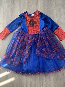 spiderman dress 6-7