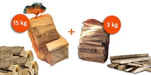 Sacco-15kg-Legna-da-Ardere-Sacco-3kg-Legnetti-Accendifuoco-per-Camino-Stufa