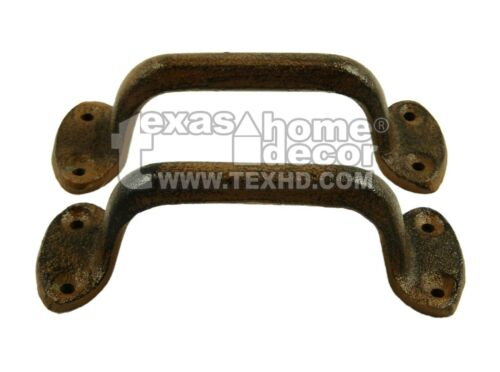 Door Handle G001 Gate Pull 2 Cast Iron Antique Style RUSTIC Barn Handle Shed
