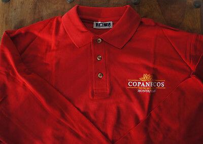**tee-shirt, Polo Publicitaire Rouge Copanecos Honduras Cigare, Sol's** Giada Bianca
