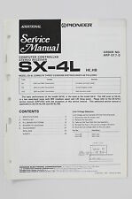 PIONEER SX-4L HE/HB STEREO Receiver ADDITIONAL Service-Manual/Schaltplan o73