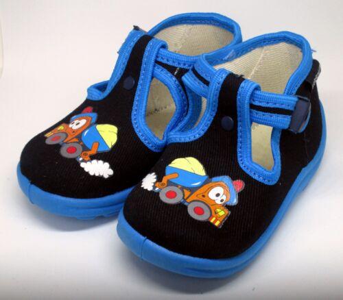 Baby Boy Sandales Pantoufles Enfant École Maternelle Tailles UK 2-7 MADE in EU