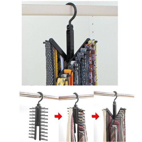 Hanger Tie Shelf Silk Shelf High Quality ABS Plastic Material Wardrobe Clothing