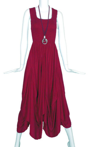 Rayon Long Boho Maxi Dress Sleeveless Party Evening Size 16 18 20 22 24