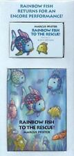 Rainbow Fish to the Rescue Mini-Book and Audio Cassette - Good - Marcus Pfister