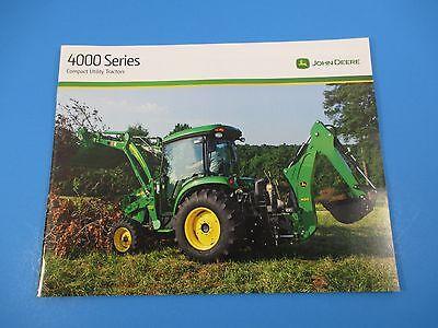 Original John Deere Sales Brochure 4000 Series  Compact Utility Tractors  M1308