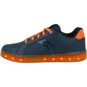Geox J Kommodor B. B Gs Chaussures Del Low Cut Sneaker Navy Orange J 745 Pb 0 Bcbuc 0659-59fr-fr Afficher Le Titre D'origine