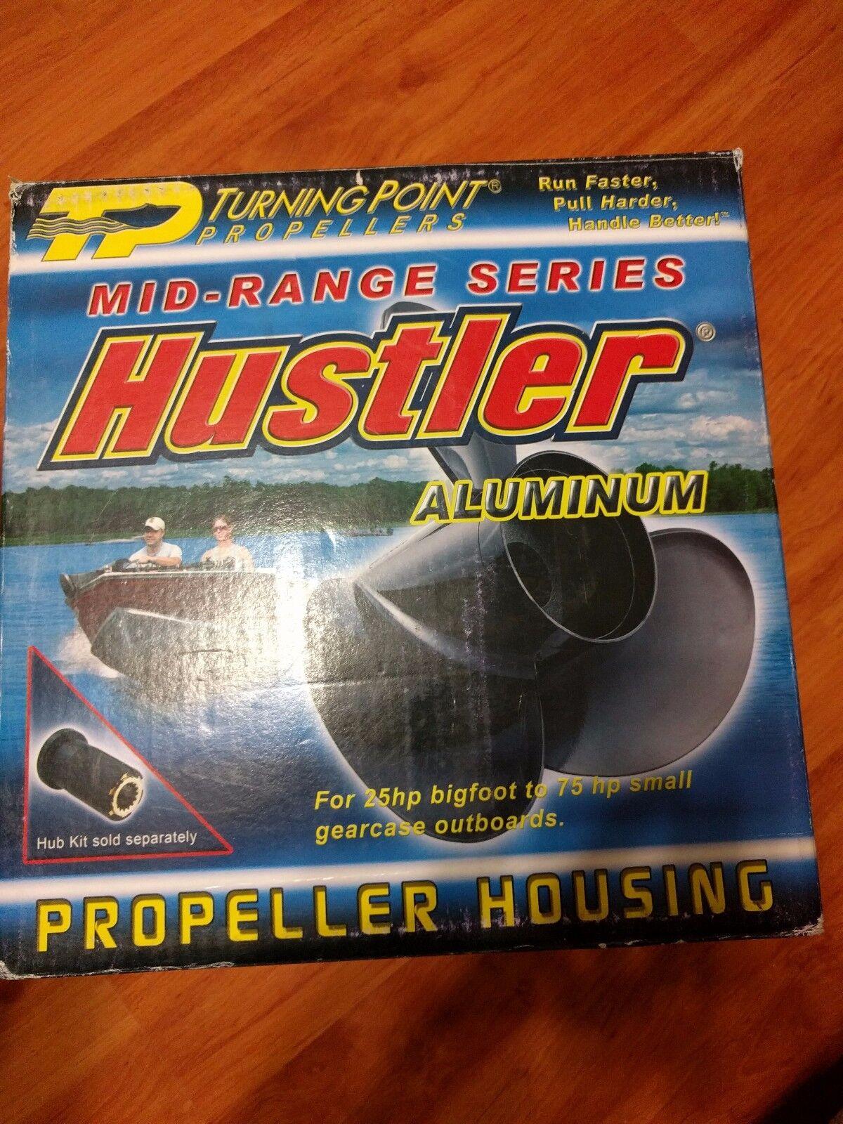 Turning Point Propellers H2-1213 Marine Hustler Mid Range