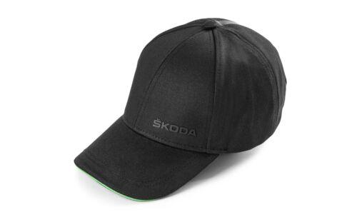 Original Skoda Cap Baseball Black unisex 000084300AM
