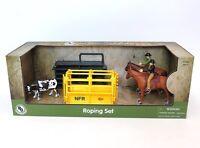Big Country Farm Model Horse Prca Rodeo Roper Set 428 1:20 Scale