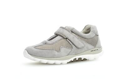 Gabor Rollingsoft Schuhe Ballerina Sneaker 26.961.41 grau light grey Leder Mesh | eBay