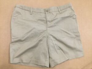 Gymboree Girl/'s School Uniform Flat Front Chino Shorts Khaki  NWT