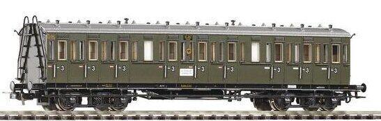 PIKO 53000 DRG Abteilwagen 3. Klasse 41347 KKK Epoche II Spur H0 1 87 - NEU