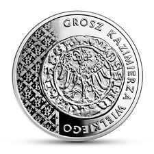 Poland / Polen - 20zl History of Polish Coin – the Grosz of Casimir the Great