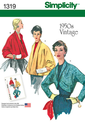 UPick SIMPLICITY VINTAGE 1950s SERIES Misses Retro Sewing Patterns Sizes 6-28W