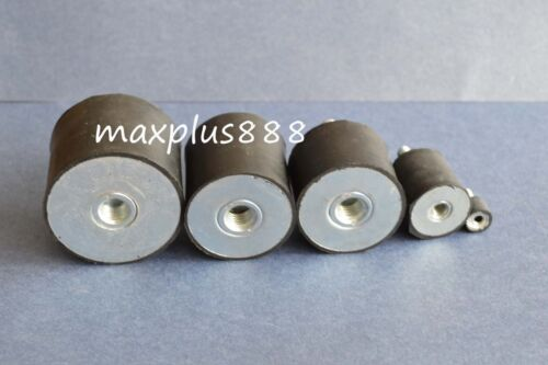 5*Male Thread 15*15mm M4 Rubber Anti Vibration Shock Pad 1 Screw With Interface