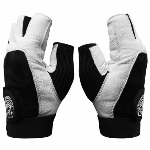 A Weight Lifting Gloves + FREE Carry Bag – Best Quality Leather Gym Gloves For