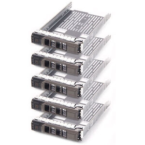 Lot-of-5x-New-3-5-034-Sas-Tray-Caddy-For-Dell-Sled-F238F-G302D-T710-R710-T610