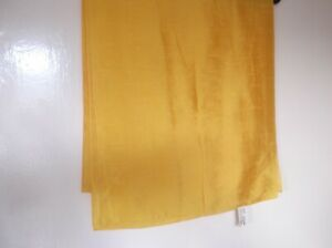 Scarves & Shawls Clothes, Shoes & Accessories Zielstrebig Vintage Ladies St Michael M&s Italian Scarf Custard Egg Yolk Yellow Taffeta Look Moderater Preis