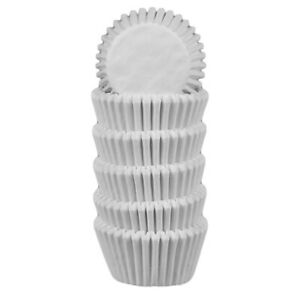 Global Sugar Art White Candy Cup Liner #6, 175 Count | Chocolates