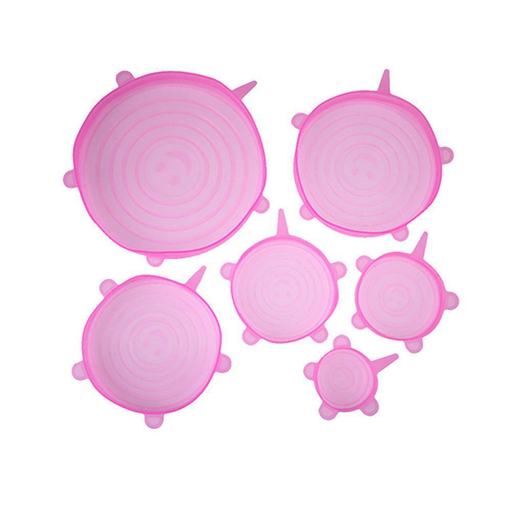 1# 6pcs/set Pink