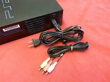 AV Cable & AC Power Adapter Cord COMBO SET for Sony Playstation 2 PS2