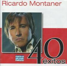 Ricardo Montaner CD NEW 40 Exitos BOX SET Con 2 CD's 40 Canciones !