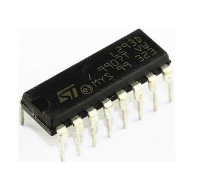 10PCS IC L293 L293D ST DRVR P/P 4CH W/DIODES 16-DIP NEW