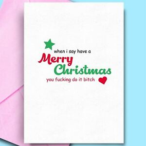 Cool Christmas Cards.Details About Cool Christmas Cards For Brother Humour Card Stepmum Stepdad Dad Funny Comedy