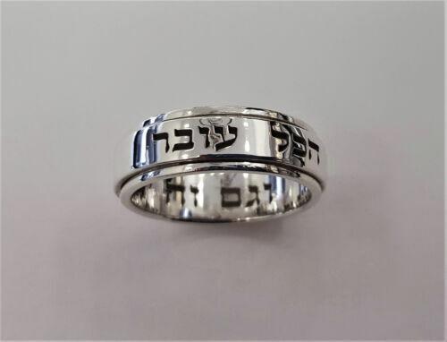 St J2146 rotates Magic ring silver 925 Solomon Ring wisdom