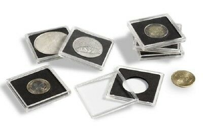 Size 39mm To Produce An Effect Toward Clear Vision Capsules Pack Of 10 Lighthouse Quadrum 2x2 Coin Holders
