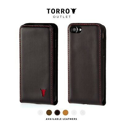 online store ccd9e bef12 TORRO Genuine Leather Flip Down Case for Apple iPhone iPhone 8 ...