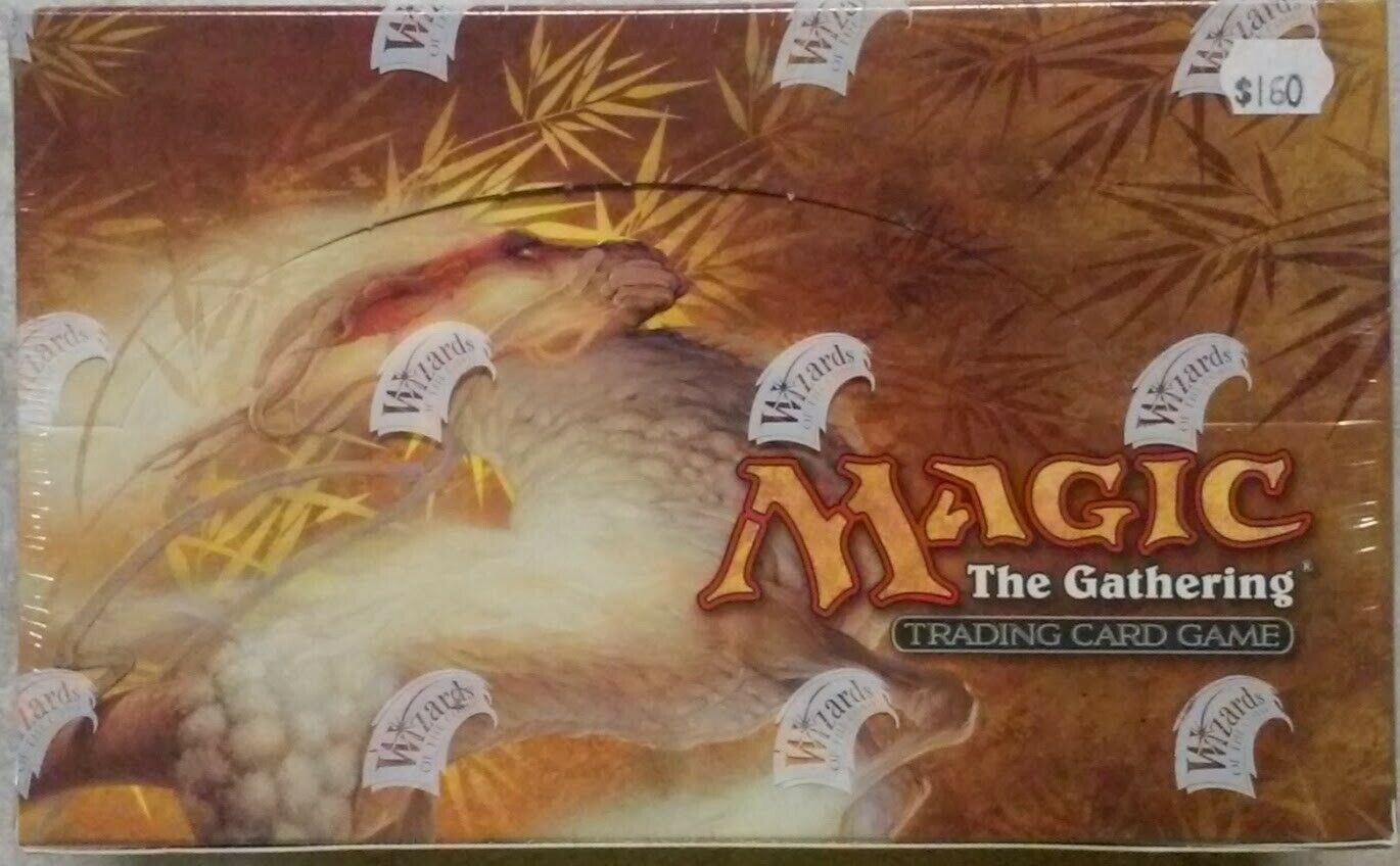MTG Magic the Gathering   Saviors of Kamigawa Booster Box    Factory Sealed