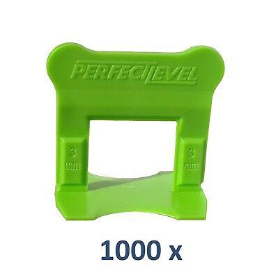300 croisillons auto nivelant professionnel 1 mm compatible Raimondi